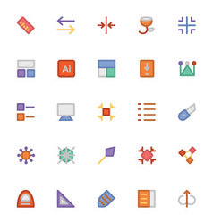 Design and Development Icons 9 vector