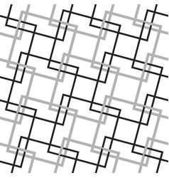Geometric minimalist pattern with intersecting vector