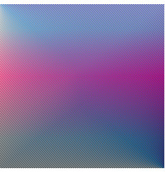 pink line abstract art with hot pink and blue vector image