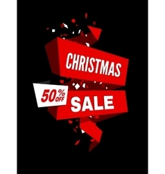 Sale tag Sale banner vector image