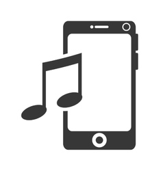 smartphone portable phone vector image