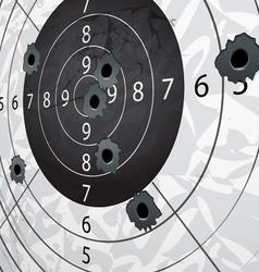 target aim vector image vector image
