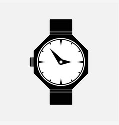 icon watches marking time vector image