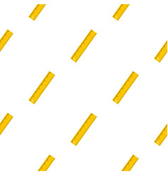 yellow ruler pattern seamless vector image vector image