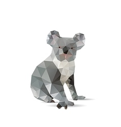 Abstract koalas vector image