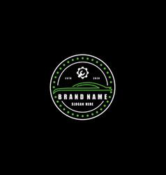 Automotive logo design vector