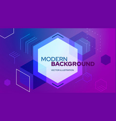 digital abstract background vector image