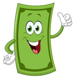 Dollar cartoon vector