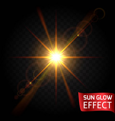 effect flying particles gold luster luxury design vector image