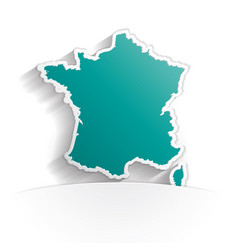 france paper icon vector image