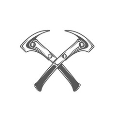 hammers isolated on white background vector image