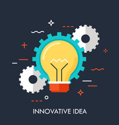 innovation idea concept vector image