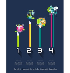 Original Style Infographics Templates vector
