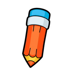 pencil school education icon vector image