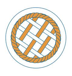 Pie circle vector