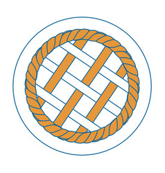 pie cirvle vector image