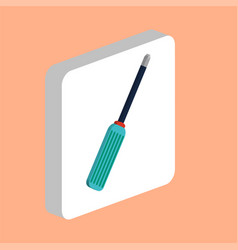 screwdriver computer symbol vector image