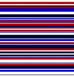 Simple colorful stripes in blue and red vector image