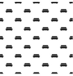 Stripped sofa pattern seamless vector