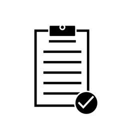 Form icon on white background form sign vector
