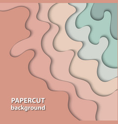 background with pastel nude beige and light green vector image