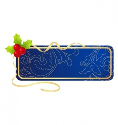Christmas tablet vector