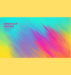 Colorful diagonal lines abstract background vector