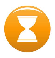 Cursor click loading icon orange vector