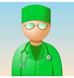 Icon medic vector
