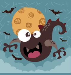 Monster boo - halloween vector
