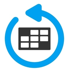 Refresh Calendar Icon vector