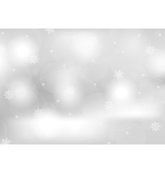 Abstract grey greeting Christmas card vector image
