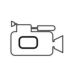 videocamera black color icon vector image vector image