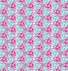 Vintage noisy textured diagonal wavy striped vector image