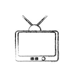 tv entertainment symbol vector image