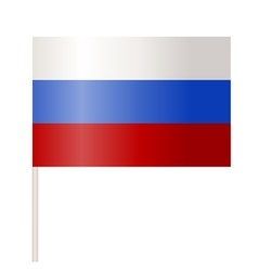 Flags of Russia vector image vector image