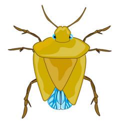 Bad insect bedbug vector