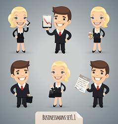 Businessmen set1 1 vector