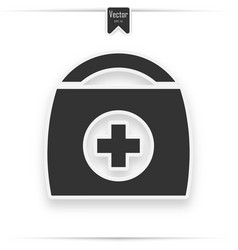 physician or doctor bag vector image