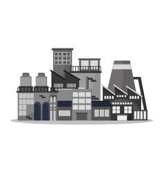 Plant factory building design vector