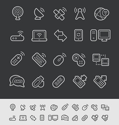 Wireless Communications Icons vector