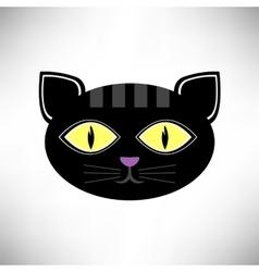 Head Cat Icon vector image vector image