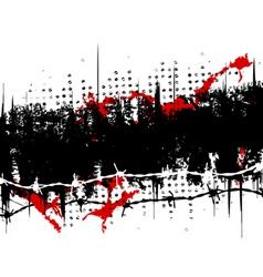 Grunge stripe vector