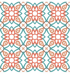 Arabic decorative ornament vector