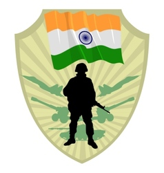 Army of India vector image