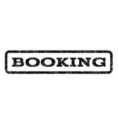 Booking watermark stamp vector