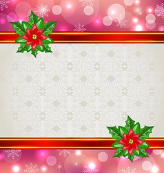 Christmas elegant card vector