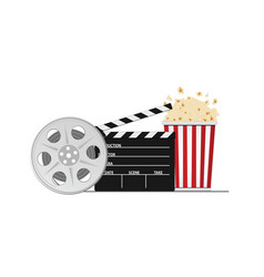 cinema and movie stuff vector image