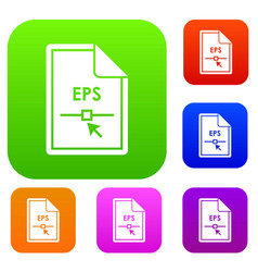 File eps set collection vector
