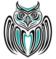 Haida owl vector